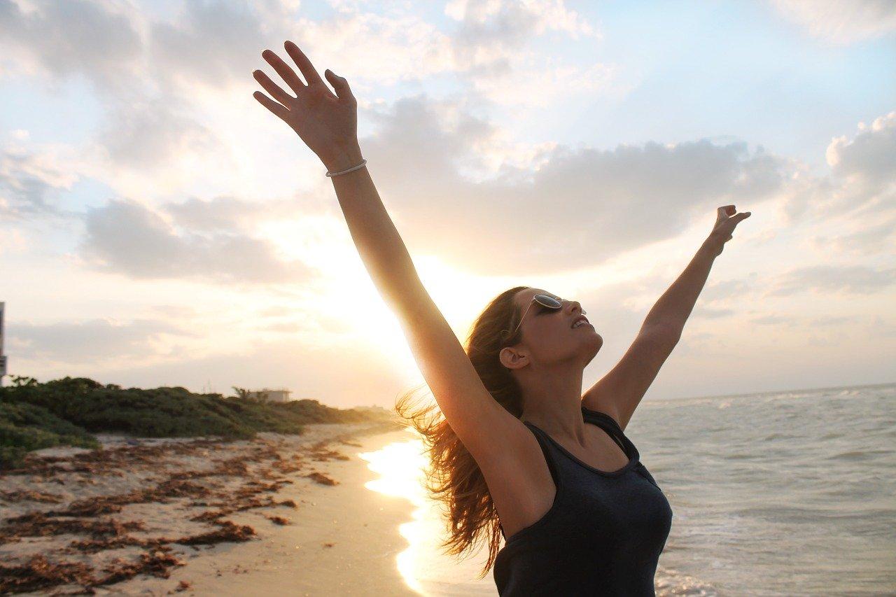 beach, sun, freedom