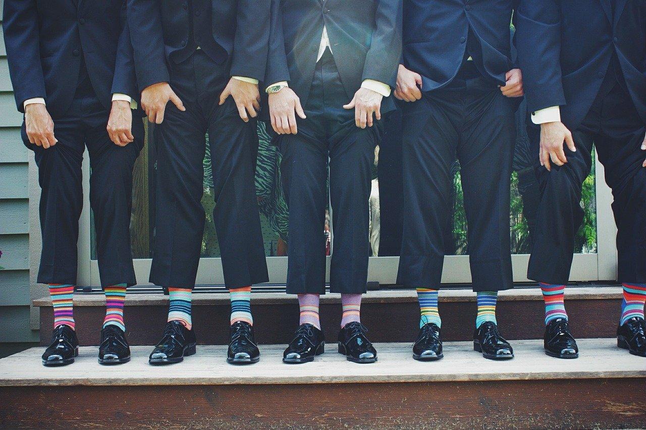 funny, socks, colorful